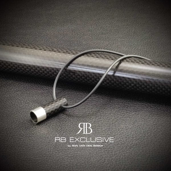 Carbon Zilver hanger Bolzano by RB EXCLUSIVE