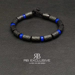 Carbon armband model AZZURRO by RB EXCLUSIVE