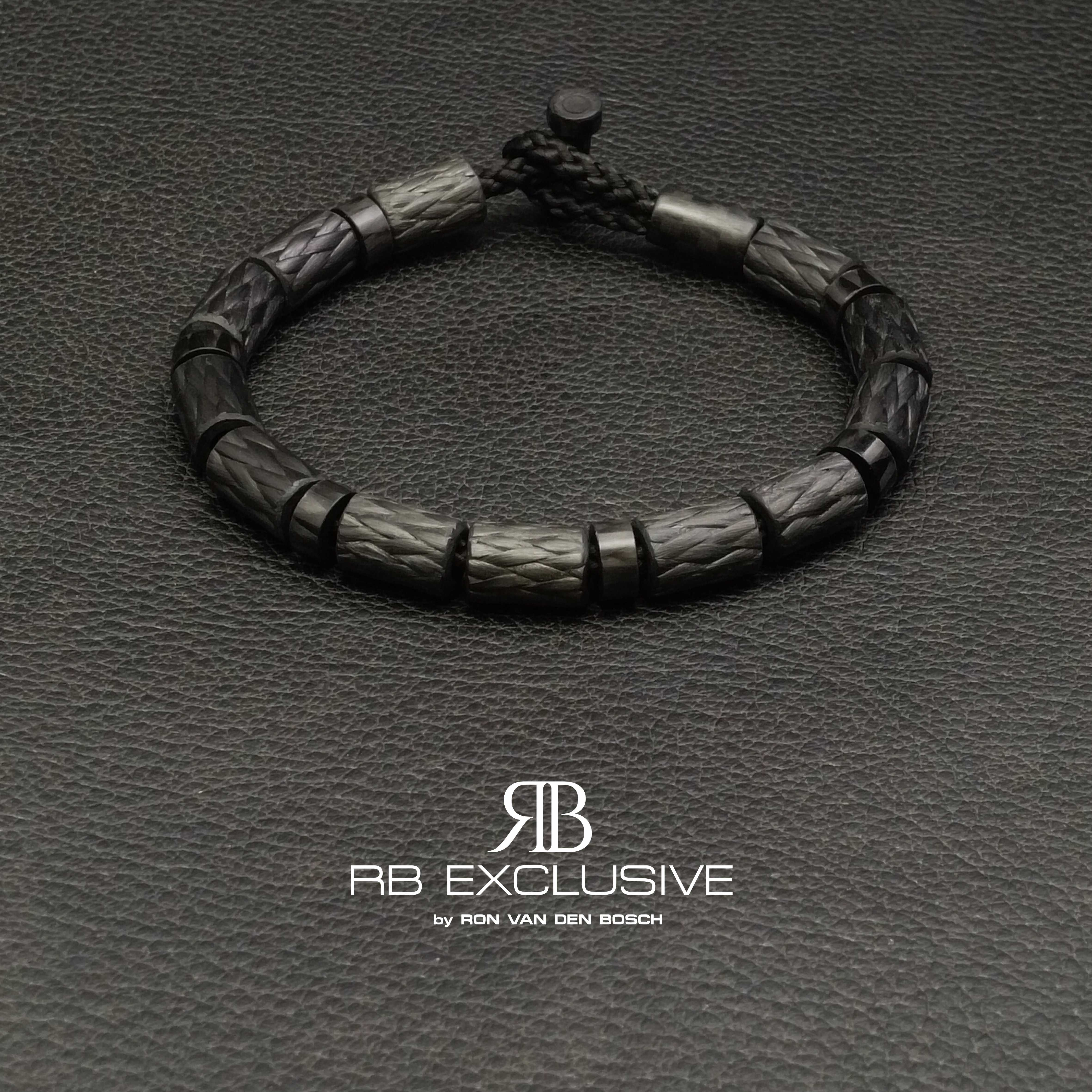 Carbon armband model Nero RB EXCLUSIVE