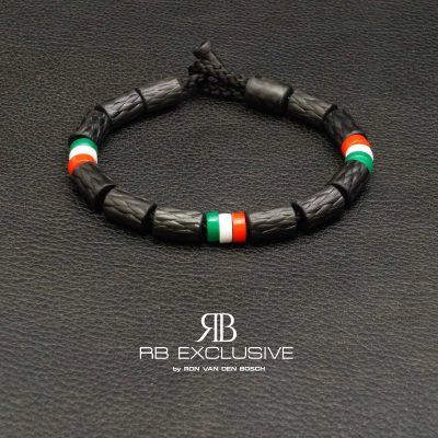 Carbon armband model Tricolore by RB EXCLUSIVE