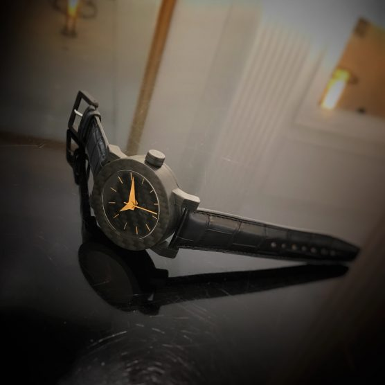 Carbon horloge by RB EXCLUSIVE