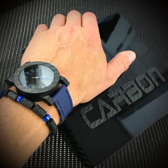 Carbon horloge en carbon armband by RB EXCLUSIVE
