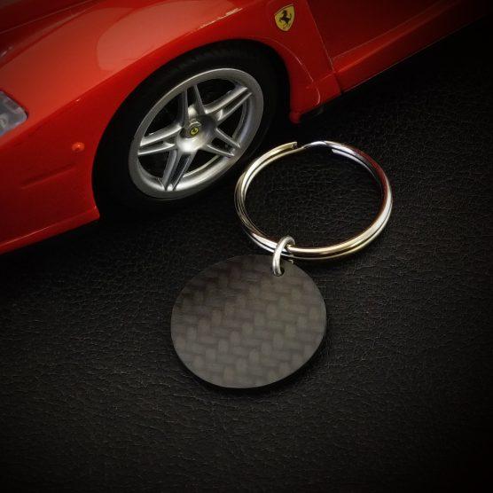 Carbon sleutelhanger-Ferrari-by RB EXCLUSIVE
