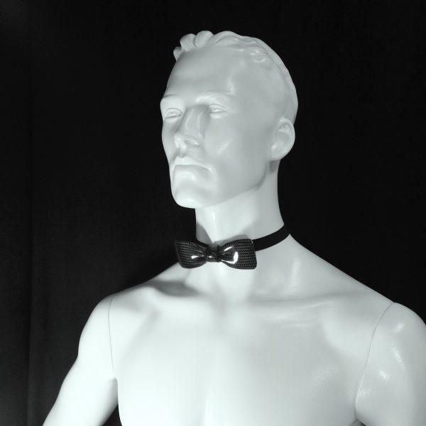 Carbon vlinderdas-Bow Tie-VIP op torso by RB EXCLUSIVE