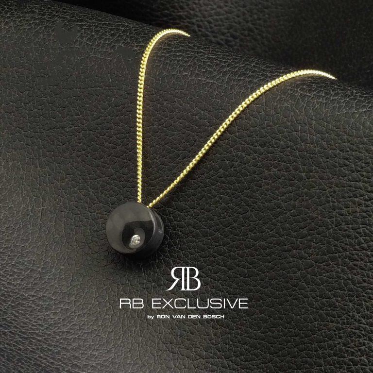 Diamant sieraad hanger model Dot by RB EXCLUSIVE
