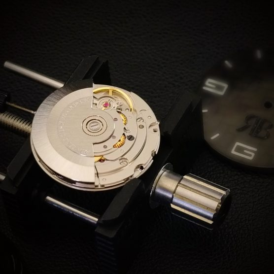 RB EXCLUSIVE Black Diamond Art - Swiss Automatic Movement Watch Collection