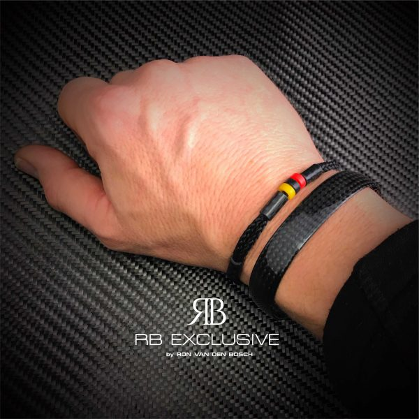 Carbon Armband F1 stijl – F1 accessoires by RB EXCLUSIVE 1