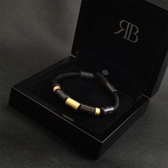 Carbon Goud Armband Donne Oro Due met luxe verpakking 2