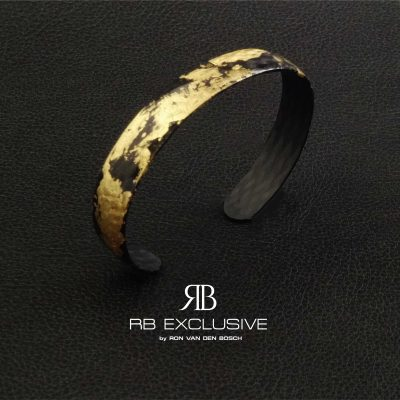 Carbon Goud Armband Oro Speciale by RB EXCLUSIVE