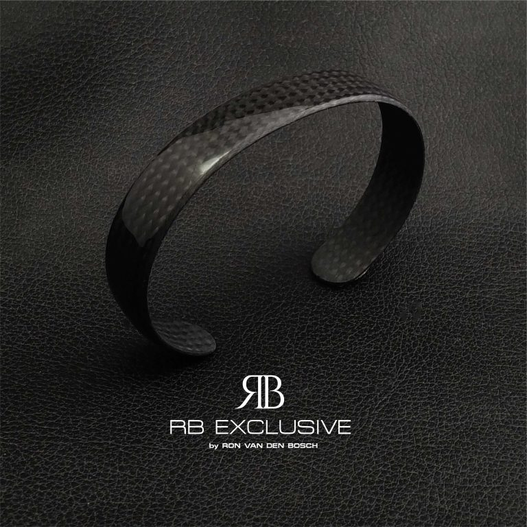 Carbon spang armband Riva by RB EXCLUSIVE
