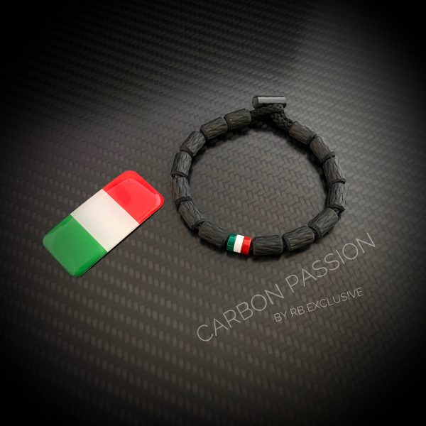 Tricolore armband en sticker