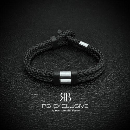 Carbon Armband Acciaio Piccolo