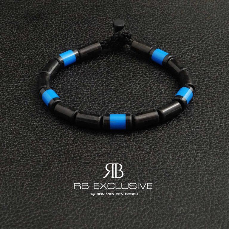 Carbon Armband Blue Cinque