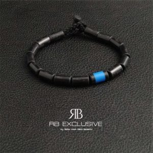 Carbon Armband Blue Uno