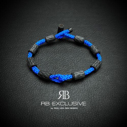 Carbon Armband Estate Blu