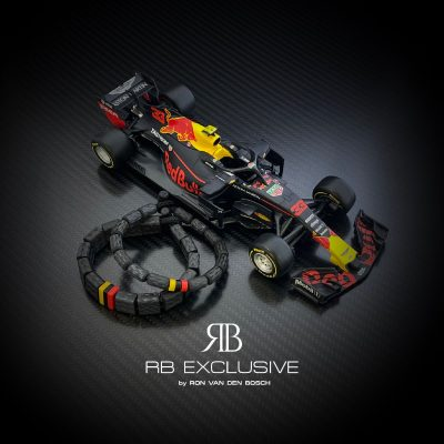Carbon Armband Formula 1 Redbull by RB EXCLUSIVE