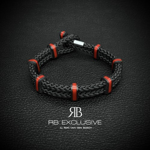 Carbon Armband Monza Rosso