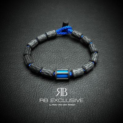 Carbon Armband Siena Blu