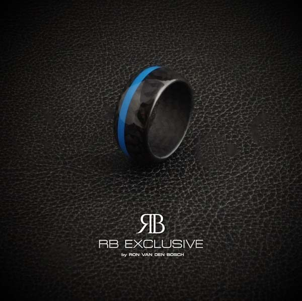 Carbon Ring Blue