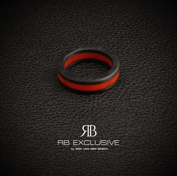 Carbon Ring Rosso 1