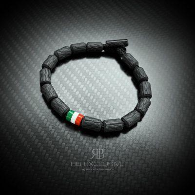 Carbon Tricolore Armband La Dolce Vita