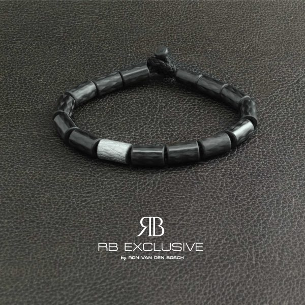 Carbon armband Alu Color