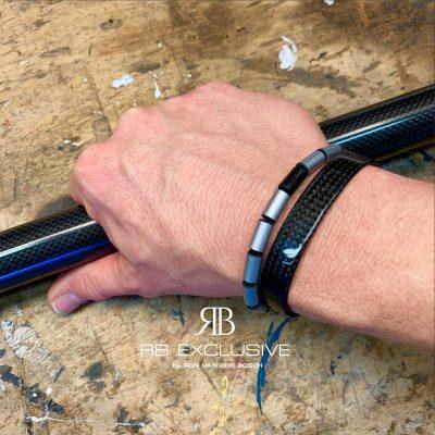 Carbon armband Alu aanzicht