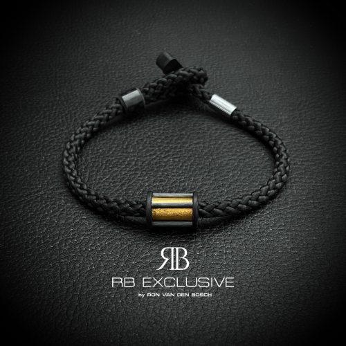Carbon armband Barre Oro