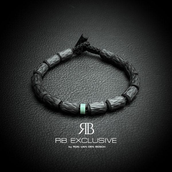 Carbon armband Bianchi Celeste Piccolo