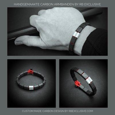 Carbon armband Ferrara sfeer