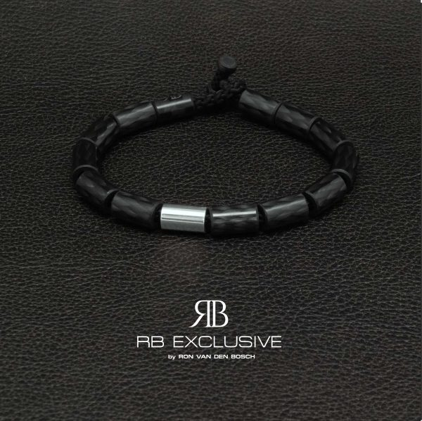 Carbon armband Giro Argento by RB EXCLUSIVE