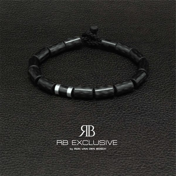 Carbon armband Giro Nero by RB EXCLUSIVE