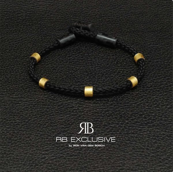 Carbon armband La Dolce Vita by RB EXCLUSIVE