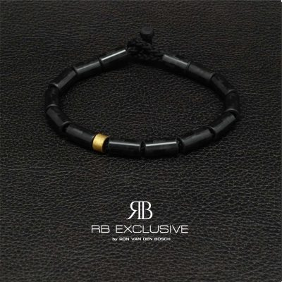 Carbon armband Limone by RB EXCLUSIVE