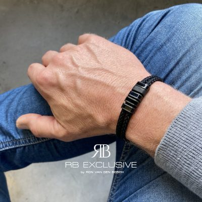 Carbon armband Livorno by RB EXCLUSIVE