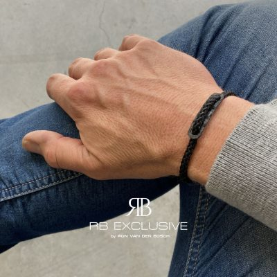 Carbon armband Nuoro by RB EXCLUSIVE