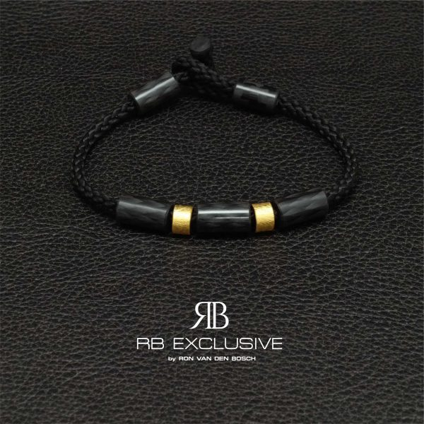Carbon armband Oro Due by RB EXCLUSIVE