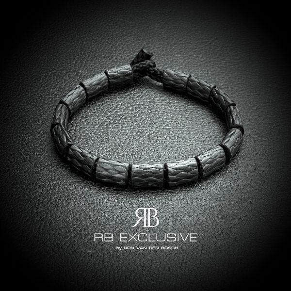 Carbon armband Ovale