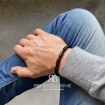 Carbon armband Pavia by RB EXCLUSIVE