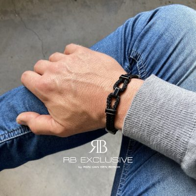Carbon armband Tempio by RB EXCLUSIVE
