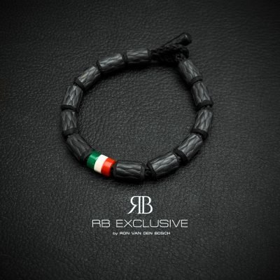 Carbon armband Tricolore Nuovo