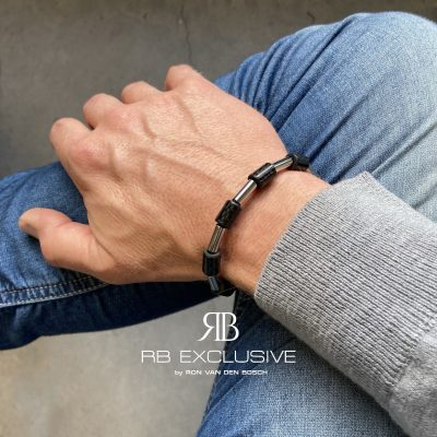 Carbon armband Udine by RB EXCLUSIVE