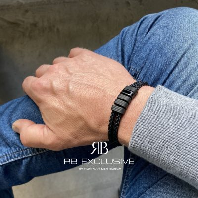 Carbon armband Varese by RB EXCLUSIVE
