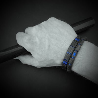 Carbon armbanden set sfeer