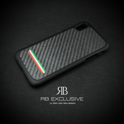 Carbon cover Iphone Xr Tricolore