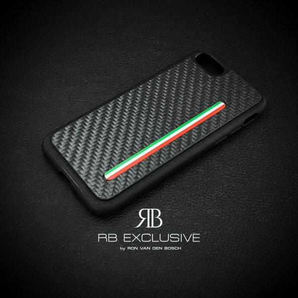 Carbon cover iPhone 7 Tricolore