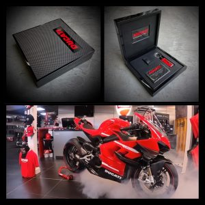 Keybox voor Limited Edition Ducati