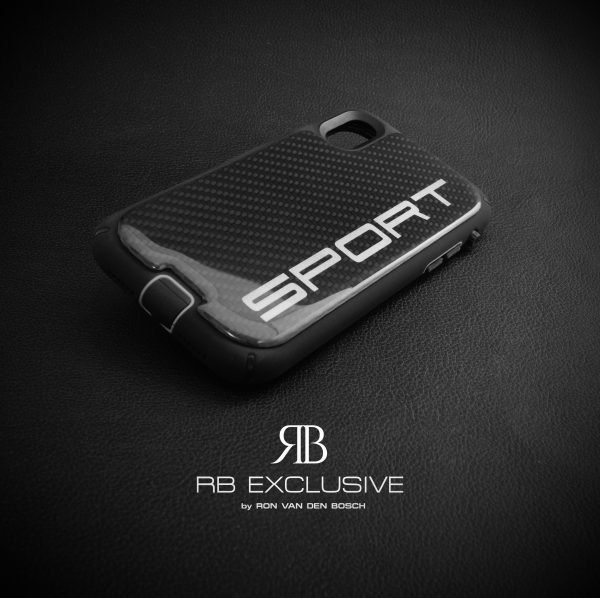 iPhone Xr carbon customized cover SPORT by RB EXCLUSIVE